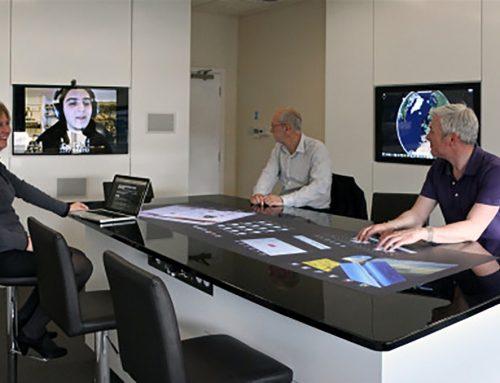 میزهای لمسی تعاملی در دفاتر مدیران یا اتاق های کنفرانس!