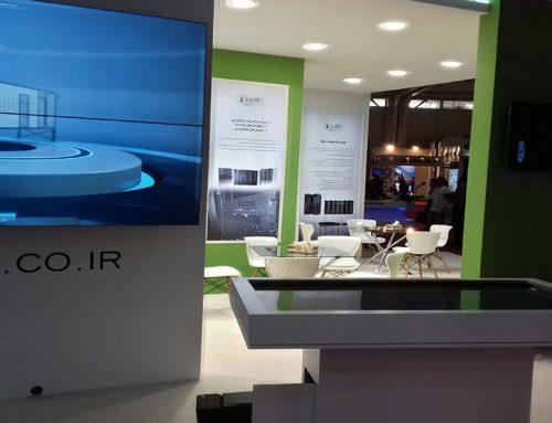 فروش فریم لمسی ۵۵ اینچ ، آغاز همکاری با صنایع الکترونیک زعیم