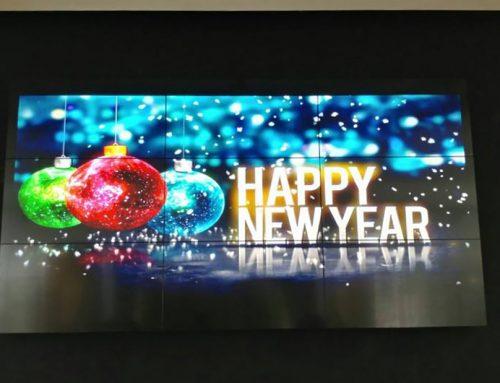 نصب ویدئو وال ال جی در مرکز خرید تشریفات اهواز