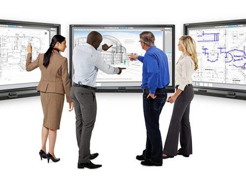 نمایشگر های مالتی تاچ تعاملی جایگزین نمایشگرهای ساده قدیمی