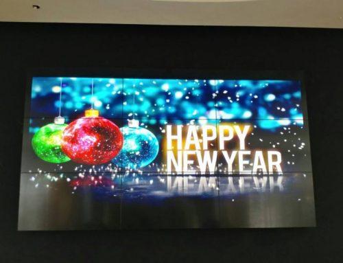 نصب ویدئووال ال جی در مرکز خرید تشریفات اهواز