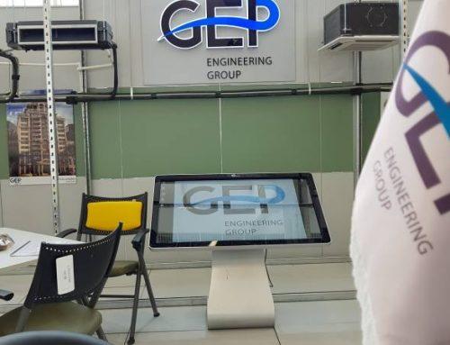 کیوسک لمسی نیوتک در افتتاحیه نمایشگاه ایران مال
