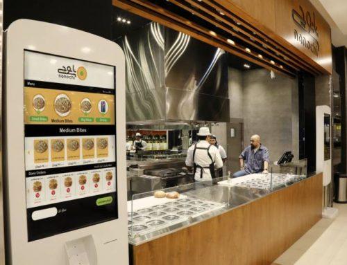 فروش کیوسک لمسی رستورانی نیوتک برای رستوران نانوچی