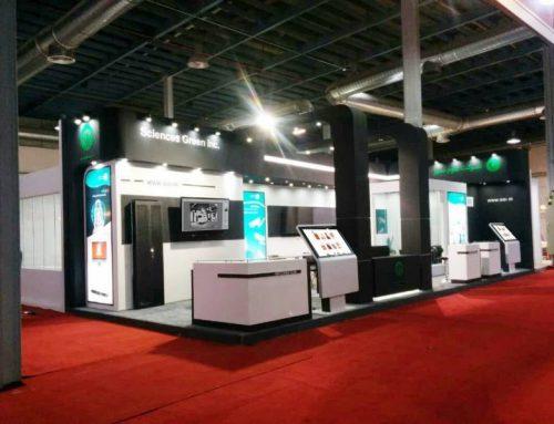 کیوسک های نمایشگاهی نیوتک در همکاری مجدد نیوتک و علوم سبز