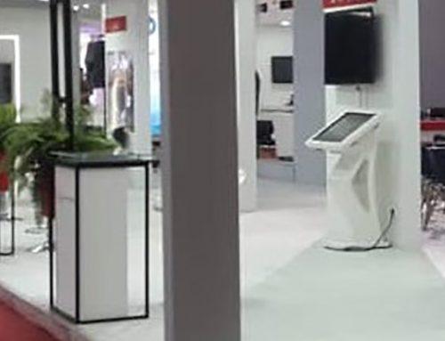 اجاره کیوسک تاچ نیوتک در نمایشگاه بورس و بانک