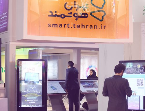 اجاره استند تاچ نیوتک در تهران هوشمند