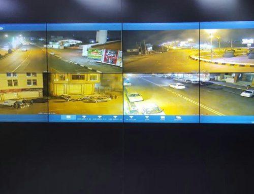 ویدئو وال جی پلاس در مانیتورینگ بهشت زهرا
